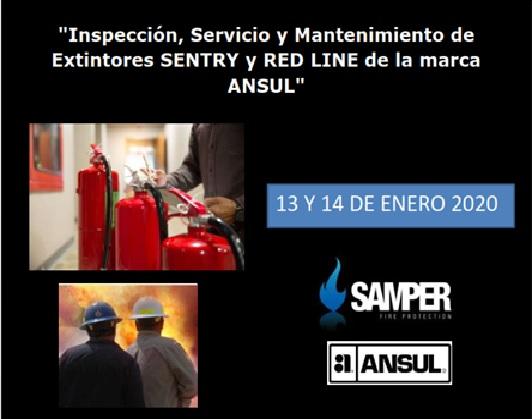 """""""Inspección, Servicio y Mantenimiento de Extintores SENTRY y RED LINE de la marca ANSUL"""""""